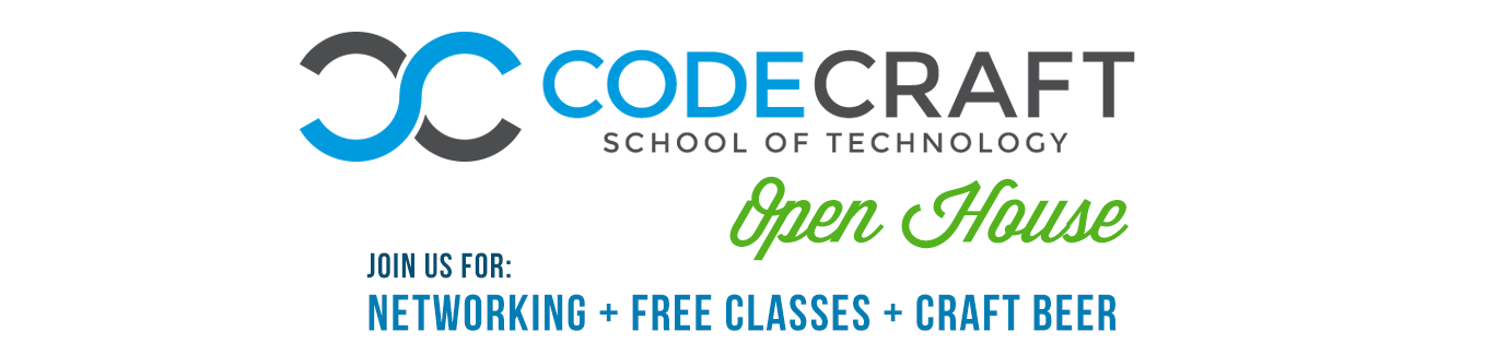 Free CodeCraft School Open House