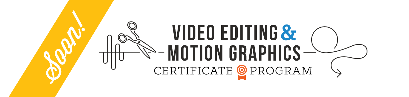 Video Editing Certificate Program