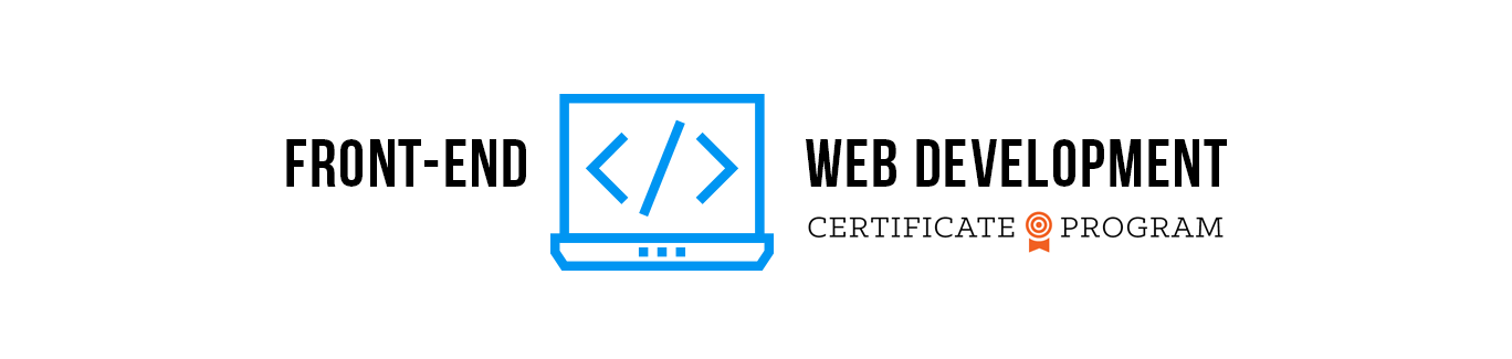 Front-End Web Development Certificate Program
