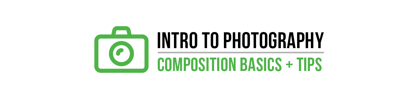 Intro to Photography: COMPOSITION Basics and Tips